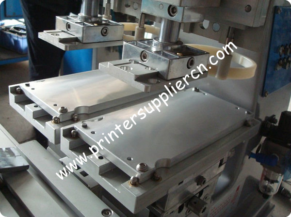Hot Sell Two Colors Open Ink Tray Pad Printer Machinery