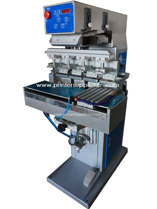 4 Colors Pad Printing Equipment for Mug