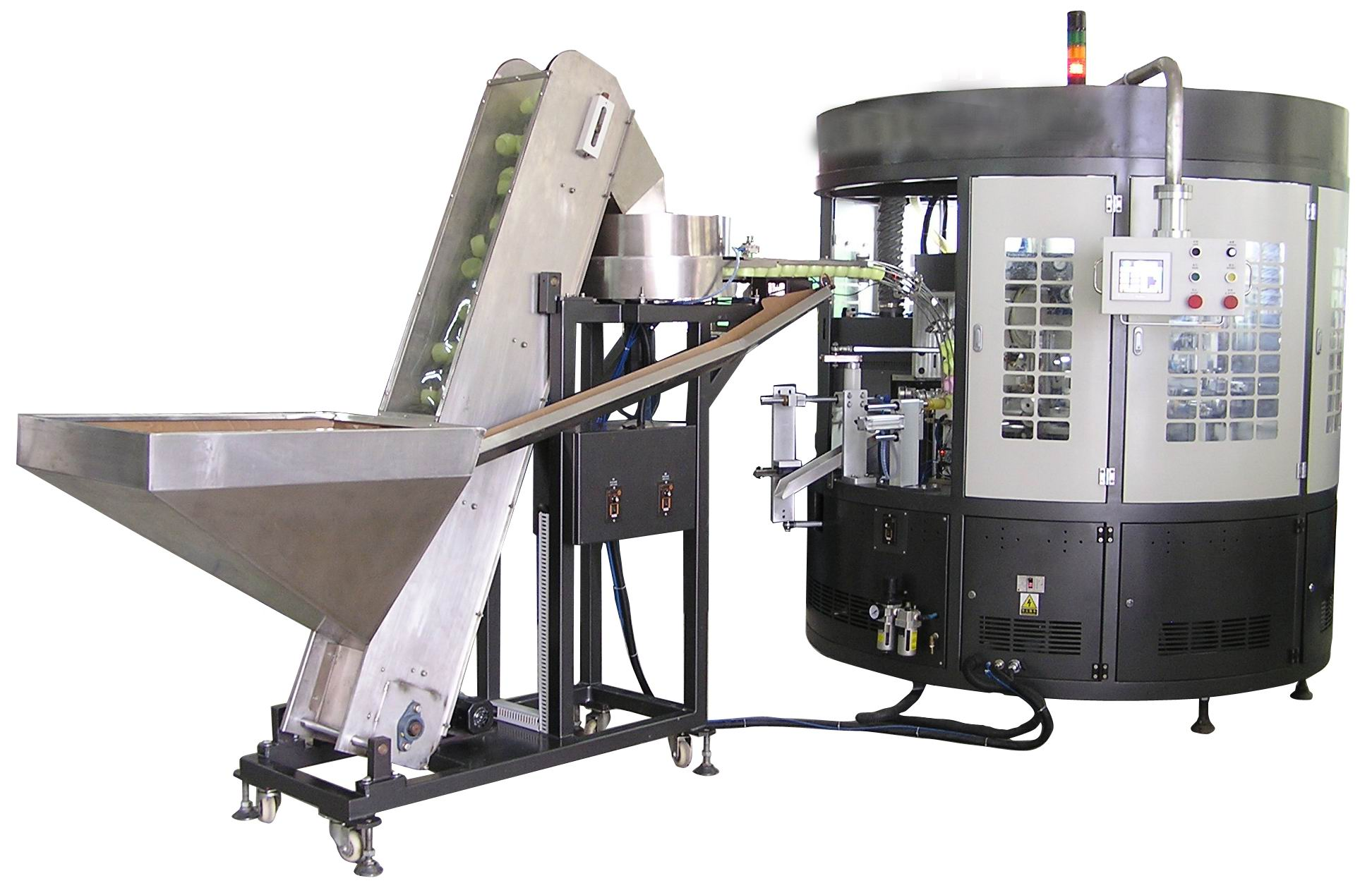 3 color Auto Screen Printer for Soft Tube