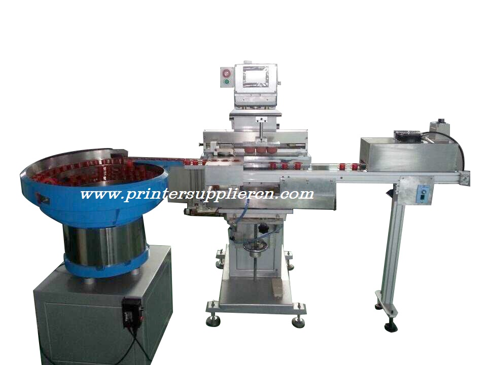 Ptfe Tape Case automatic Pad Printing Machine