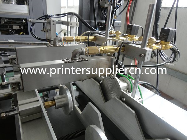 Three Color Automatic Bottle Screen Printing Machine