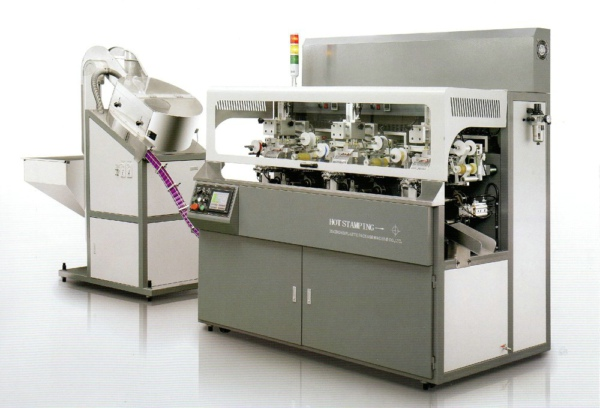 Fully Automatic Chain-type Multicolor Hot Stamping Machine for Wine Cap