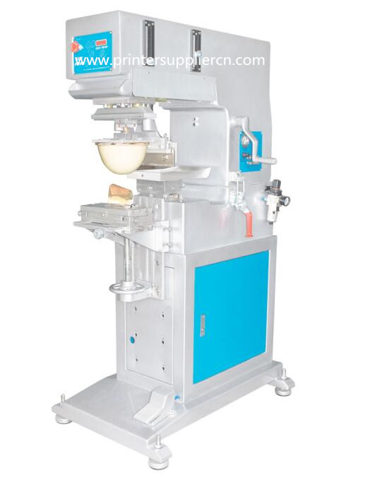 One Color Pad Printing Machine for Lady Shoes Heel
