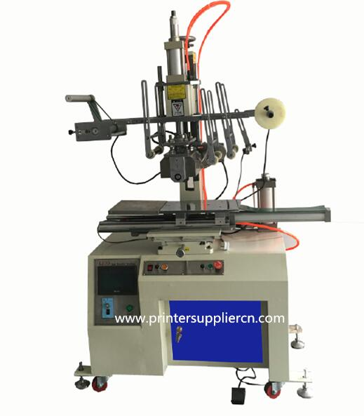 Flat And Round Heat Transfer Machine for Milk Bottle