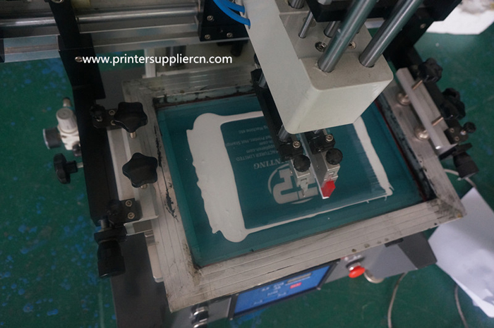Tabletop  Screen Print Printer with T-slot Worktable