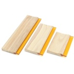 Silk Screen Printing Squeegee Blade with wooden handle