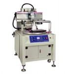 Flat Bed PCB Screen Printing Machine with 4 Rotary Stations