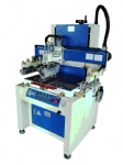 Electric Flatbed Screen Printers with Vacuum Table for Plastic Sheet